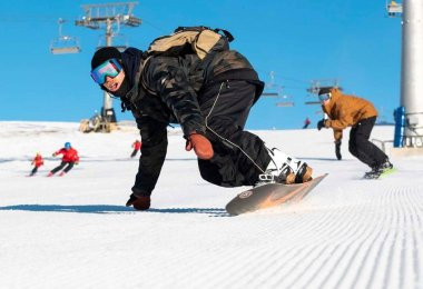Skiing & skiboarding Buller